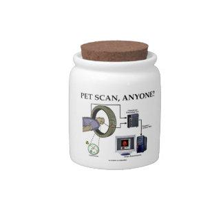 PET Scan, Anyone? (Positron Emission Tomography) Candy Jars