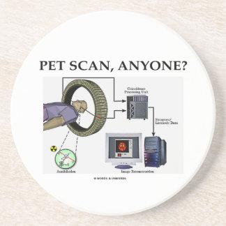 PET Scan, Anyone? (Positron Emission Tomography) Coaster