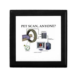 PET Scan, Anyone? (Positron Emission Tomography) Keepsake Box