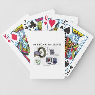 PET Scan, Anyone? (Positron Emission Tomography) Bicycle Card Decks