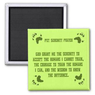 Pet Serentiy Prayer Magnet