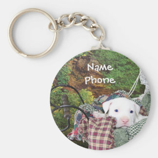 Pet Service Advertising Key Chains