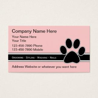 Pet Service Business Cards