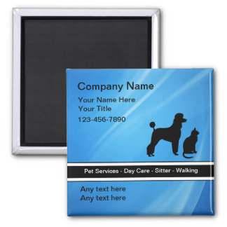 Pet Service Magnets