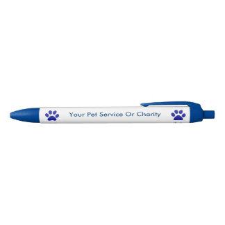 Pet Service Simple Promotional Blue Ink Pen