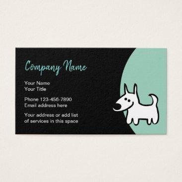 Pet Services Stylish Design Business Card