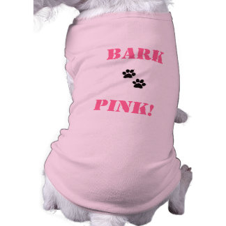 pet shirt    BarkPink!