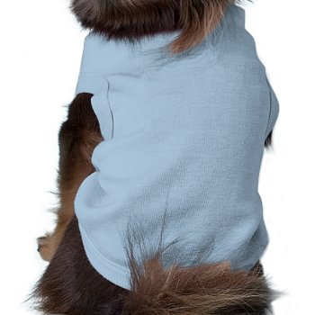 Pet Shirt Doggie Ribbed Tee by creativeconceptss at Zazzle