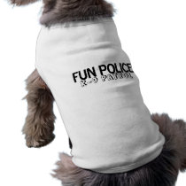 Pet Shirt Fun Police K-9