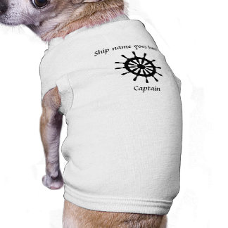 Pet Shirt - helm - ship name