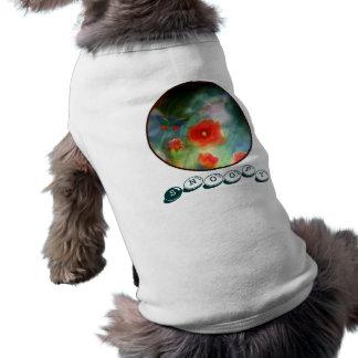 Pet Shirt ``Poppy Grassland´´ Add Dogs Name