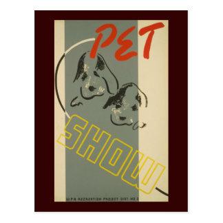 Pet Show Post Cards