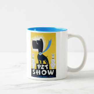 Pet show WPA Recreation Project Vintage WPA Poster Coffee Mugs