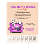Pet Sitter Ad White Dog Mod Couch Tear Sheet