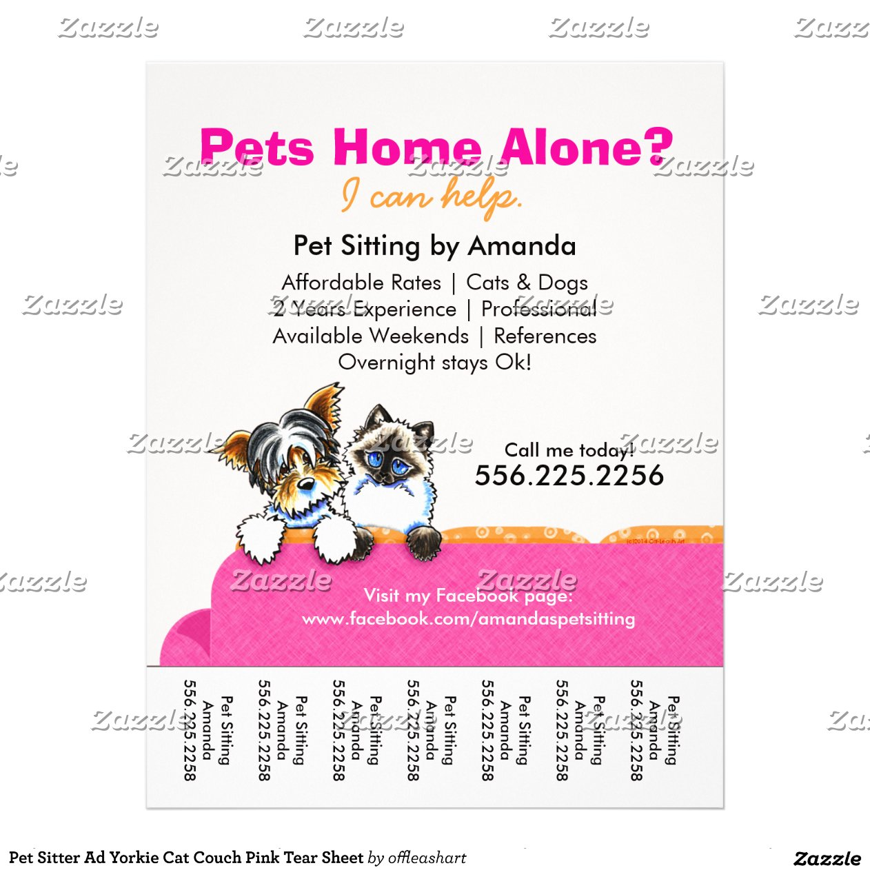 sitting clipart images pet sitter ad yorkie cat couch house sitting flyer