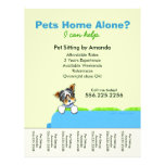 Pet Sitter Ad Yorkie Couch Green Tear Sheet