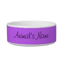 Pet sitter animal feeding instructions bowl