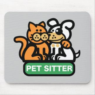 Pet Sitter (Cat & Dog) Mouse Pad