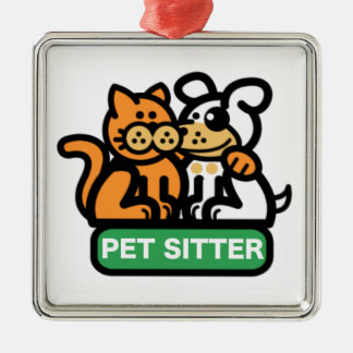 Pet Sitter (Cat & Dog) Christmas Tree Ornaments