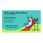 Pet Sitter Dog Day Care Business Double-Sided Standard Business Cards (Pack Of 100)