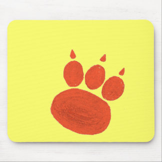 Pet Sitter & Dog Walker Paw Print Mouse Pad