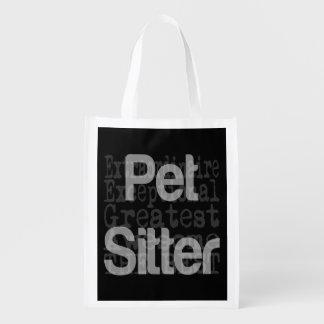 Pet Sitter Extraordinaire Reusable Grocery Bag