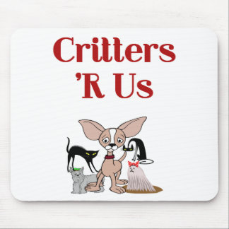 Pet Sitter, Pet Groomer or Veterinarian Mouse Pad