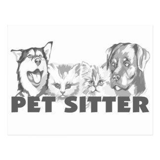 Pet Sitter Postcard