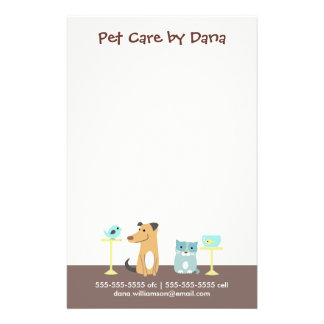 Pet Sitter s Business Full Color Flyer