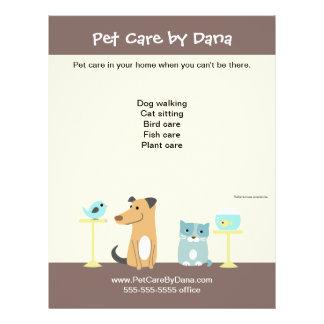 Pet Sitter s Promotional Flyer