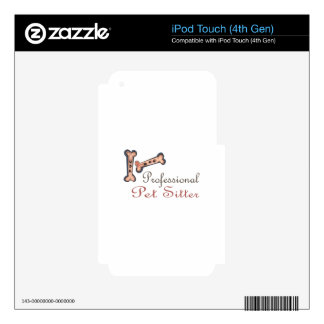 PET SITTER DECAL FOR iPod TOUCH 4G