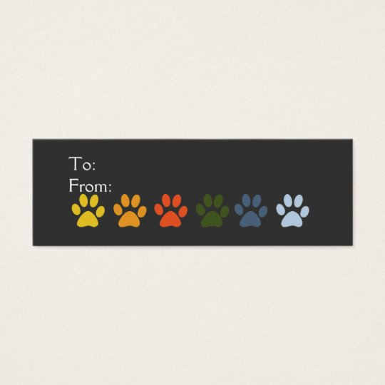 Pet Sitter Vet Holiday  Gift Tag