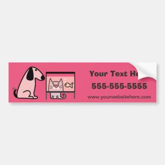 Pet Sitter's Bumper Sticker