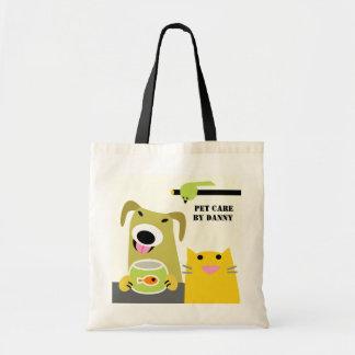 Pet Sitter's Business Canvas Bags