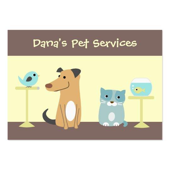 Pet Sitter's Business Card