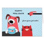 Pet Sitter's Holiday Greeting Cards