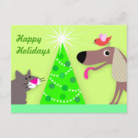 Pet Sitters Holiday Greetings