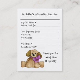 pet information office school products zazzle