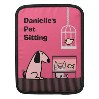 Pet Sitter's iPad Case Sleeves For iPads