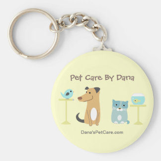 Pet Sitter's Promotional Keyring Keychain