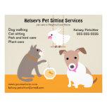 Pet Sitting Business Advertising Flyer