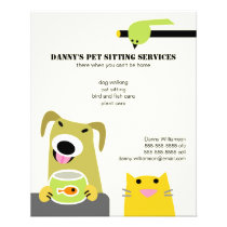 Pet Sitting Business Flyer