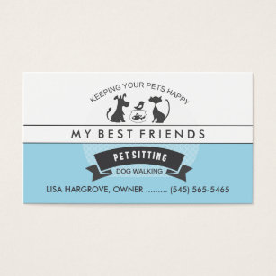 pet sitting business cards examples thevillas co