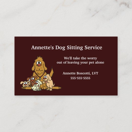 Pet sitting dog babysitter business card template zazzle pet sitting dog babysitter business card template friedricerecipe Image collections