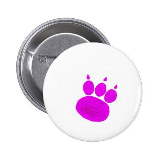 Pet Sitting Services Paw Print Pinback Button