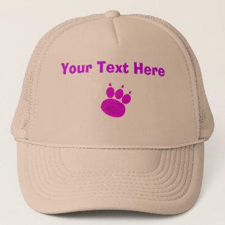 Pet Sitting Services Paw Print Trucker Hat