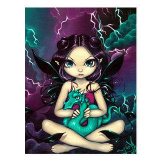 Pet Storm Dragon Postcard