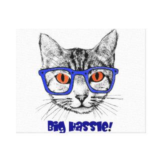 Pet Stretched Canvas Print