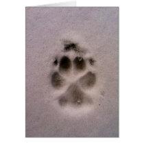 Pet Sympathy or Rescue card (Dog)