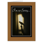 Pet Sympathy, Parrot Loss, African Grey Shadow Greeting Card